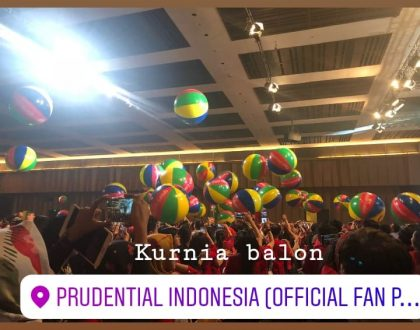 50 UNIT BALON BOLA DIAMETR 1 M , PRUDENTIAL